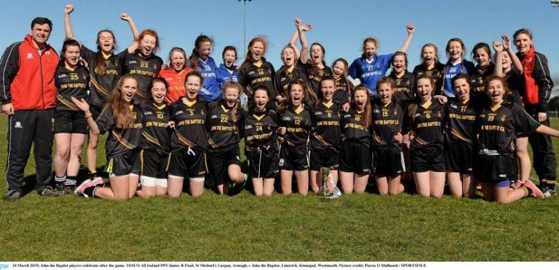 All Ireland Junior B Ladies Football Champions 2015!