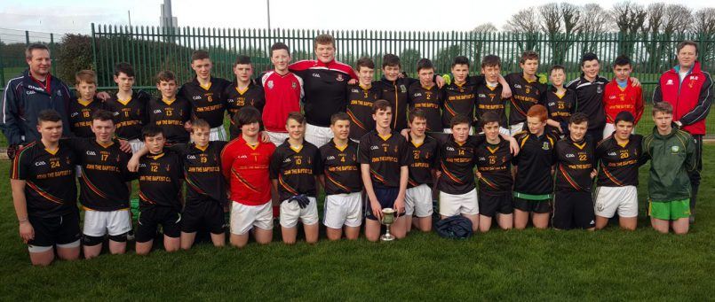 Munster Football Under 15 B Champions!